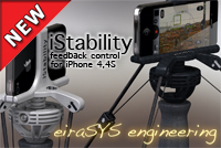 eiraSYS iStability iPhone 4 and 4S